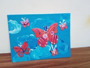 Pânză pictură pe placaj 18/ 24 cm