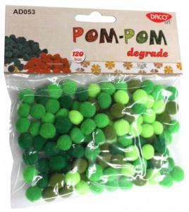 Pom - pom degrade1