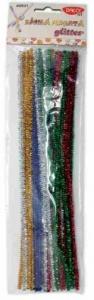 Sârmă pluşată glitter