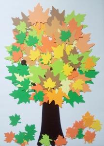 Copacul toamnei - set creativ0