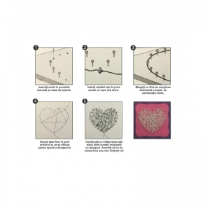 Set creativ - Fluture de ață
