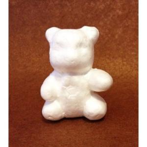 Ursuleț din polistiren (7 cm)