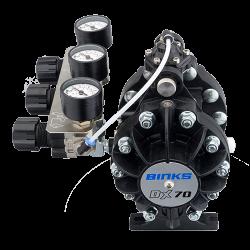 Binks DX70 1:1 ratio pompa cu diafragma2