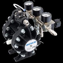 Binks DX70 1:1 ratio pompa cu diafragma5