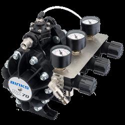 Binks DX70 1:1 ratio pompa cu diafragma8
