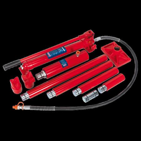 Set presa hidraulica 20T si accesorii pentru tinichigerie