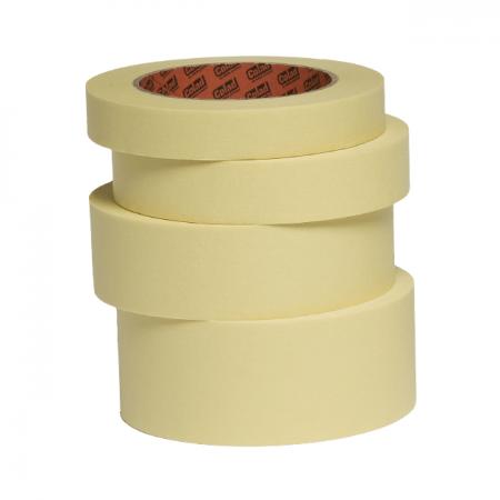 Banda mascare hartie Colad 9020xx Ultimate, rezista pana la 110 °C, culoare crem, lungime 50 metri0
