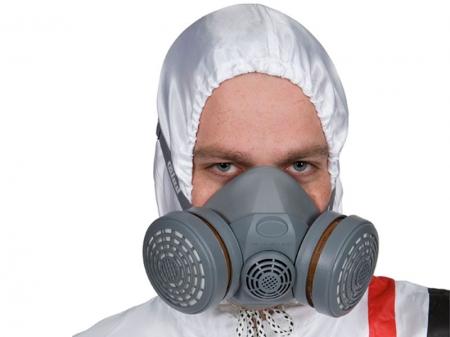Masca vopsit Colad A1P2 cu filtru carbon