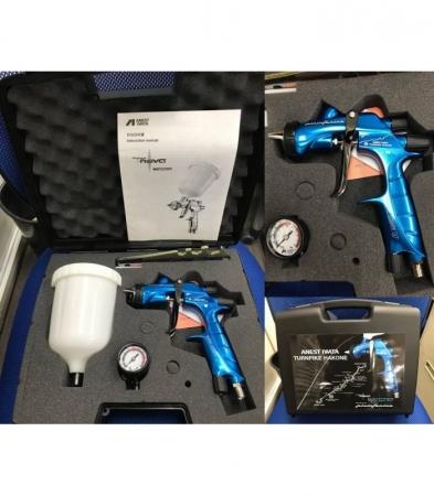 Pistol de vopsit Anest Iwata Pininfarina TurnPike Hakone duza ø 1,3 mm6