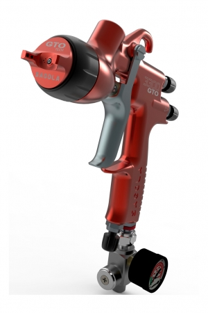 Pistol de vopsit Sagola 3300 GTO Car HVLP Vopsea + Manometru8