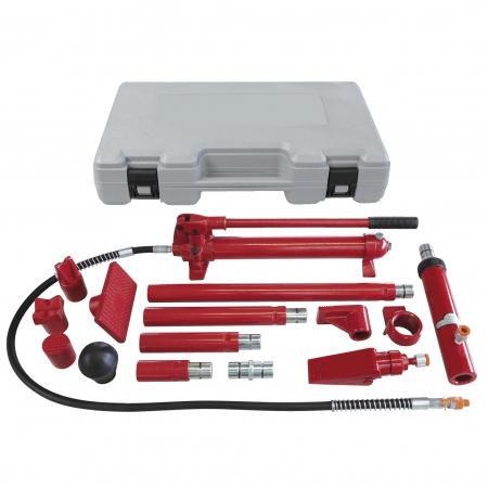 Set presa hidraulica 10T GYS  052338 si accesorii pentru tinichigerie