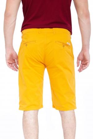 Pantaloni Scurti Galbeni