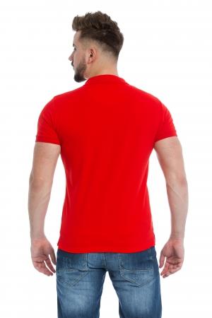 Tricou Polo Rosu