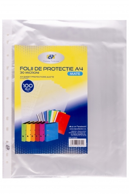 Folie protectie Transparent 30 MIC 100/punga DP Collection