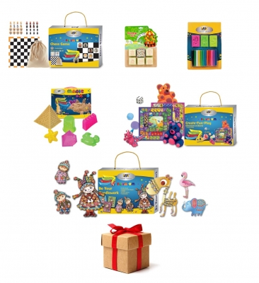Pachet WOW 5 surprize DP Collection seturi creativ educative!