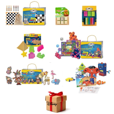 Pachet WOW 8 seturi creativ educative DP Collection