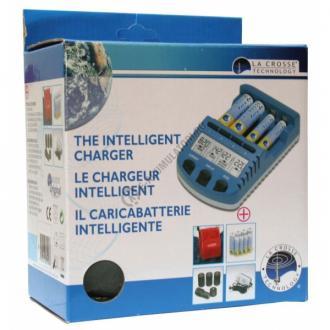 Set Lacrosse incarcator inteligent multifunctional RS1000 + 4AA si adaptoare 4C si 4D7