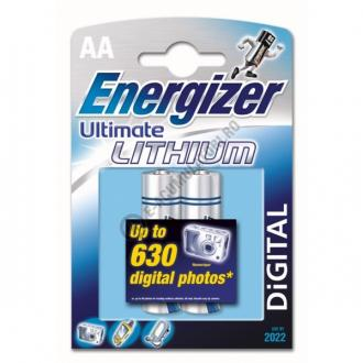 Baterii Energizer Ultimate Lithium AA, blister de 2 buc.1