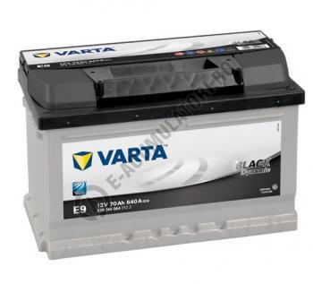 BATERIE AUTO VARTA BLACK 70 Ah cod E9 - 57040906431220