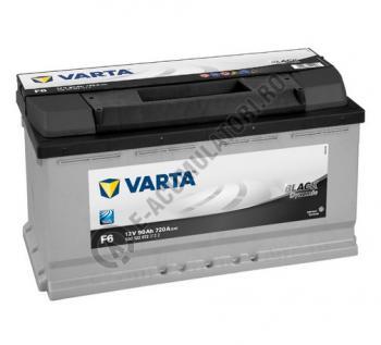 BATERIE AUTO VARTA BLACK 90 Ah cod F6 - 59012207231220
