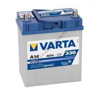BATERIE AUTO VARTA BLUE 40 Ah cod A14 - 54012603331321
