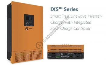 Invertor / Incarcator Xunzel Sinewave IXS-1000VA-800W-12V cu controller incarcare solara si cabluri IXS1000-120
