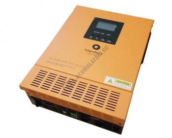 Invertor / Incarcator Xunzel Sinewave IXS-1000VA-800W-12V cu controller incarcare solara si cabluri IXS1000-123