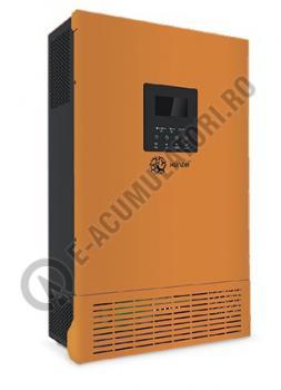 Invertor / Incarcator Xunzel Sinewave IXS-3000VA-2400W-24V cu controller incarcare solara si cabluri IXS3000-240