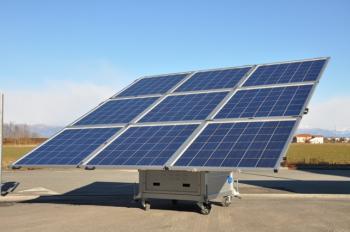 Kit fotovoltaic mobil si pliabil iKUBE F1500