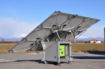 Kit fotovoltaic mobil si pliabil iKUBE F1501