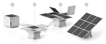 Kit fotovoltaic mobil si pliabil iKUBE F1502