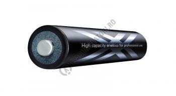 Set incarcator LaCrosse RS250 cu 4 acumulatori eneloop pro 2550 mAh, preincarcati1