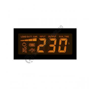 UPS Cyber Power VALUE1000ELCD 1000VA 550W AVR, LCD Display, 2 x Schuko outputs, USB & Serial port3