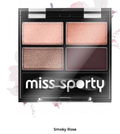 Fard de ochi Studio Color Quattro Eyeshadow Miss Sporty 408