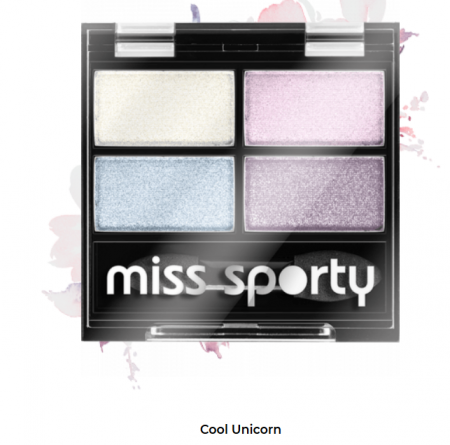 Fard de ochi Studio Color Quattro Eyeshadow Miss Sporty Cool Unicorn 415