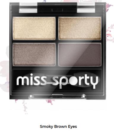 Fard de ochi Studio Color Quattro Eyeshadow Miss Sporty Smoky Brown Eyes 403