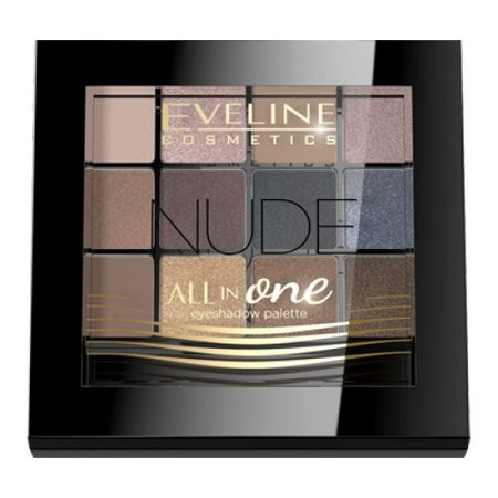 Fard de pleoape Eveline Cosmetics All in One - Nude