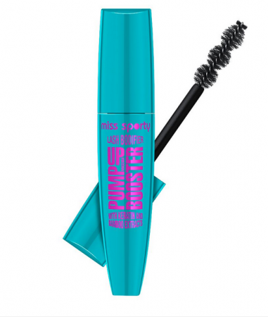 Mascara Miss Sporty Pump Up Booster Lash Bodifier Black, 12 ml