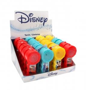 Cars, Frozen & Mickey Mouse - Lanternă