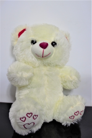 Mini ursulet IVORY din plus 25 cm, cadoul ideal de Valentine's Day