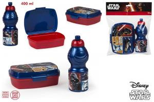 Set PREMIUM cutie sandwich si sticluta apa STAR WARS Gama Disney