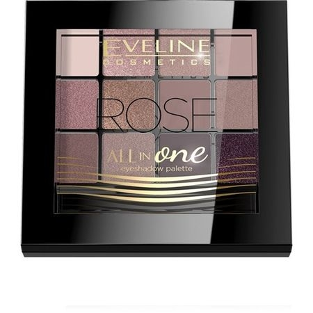 Fard de pleoape Eveline Cosmetics All in One - Rose