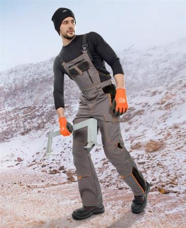 Pantaloni cu pieptar vatuiti de iarna VISION1