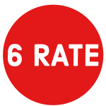 6 rate