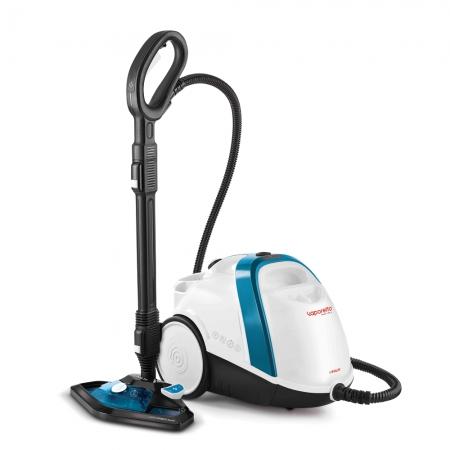 Aparat de Curatat cu Abur Vaporetto Smart 100_B, 1500 W, 2 l, 4 Bar, 110 gr/min, Alb/Albastru