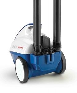 Aparat de Curatat cu Abur Polti Vaporetto Smart 40 Mop,1800W, Emisie Abur  85 g/min, Presiune Abur 3.5 BAR, Alb Albastru1