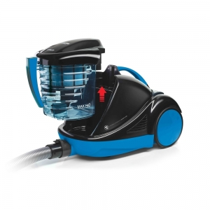 Aspirator cu Filtrare prin Apa Polti Forzaspira Lecologico Aqua Allergy Turbo Care, 850 W, 1L, Negru/Albastru1