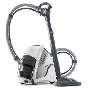Aspirator Polti Unico MCV 20 Allergy Multifloor, Filtrare Multiciclonica 5 Stadii, Functie Igienizare Abur si Uscare, 2200 W, Filtru Hepa, Argintiu