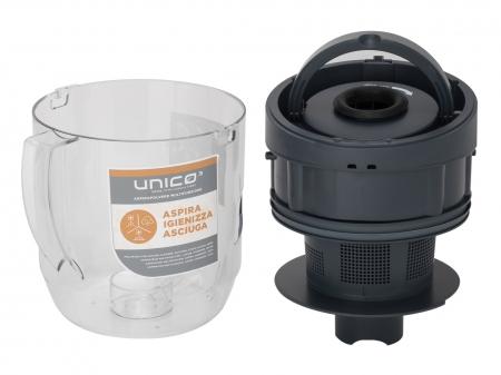Aspirator Polti Unico MCV 85 Total Clean & Turbo, Filtrare Multiciclonica 5 Stadii, Functie Igienizare Abur si Uscare , 2200 W, Filtru Hepa, Auriu9