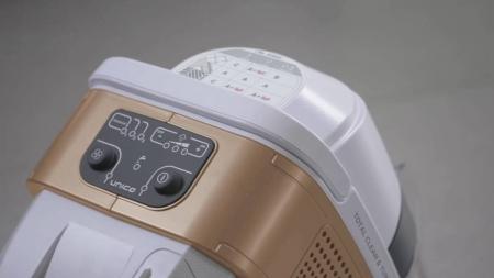 Aspirator Polti Unico MCV 85 Total Clean & Turbo, Filtrare Multiciclonica 5 Stadii, Functie Igienizare Abur si Uscare , 2200 W, Filtru Hepa, Auriu5